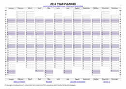 Download Free Year Planner for 2010 | shrewdcookie com